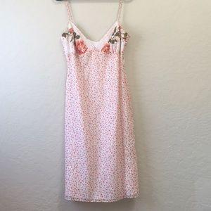 Vintage Shelli Segal Laundry Scarf Dress